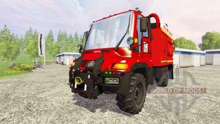 Mercedes-Benz Unimog U400 GIMAEX for Farming Simulator 2015