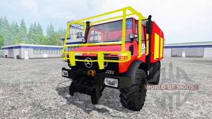 Mercedes-Benz Unimog U1200 CCF for Farming Simulator 2015