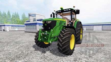John Deere 6210R v2.0 [real run sound] for Farming Simulator 2015