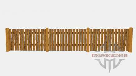 Wooden fence for Farming Simulator 2015