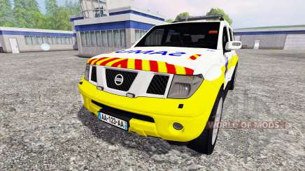 Nissan Pathfinder SAMU for Farming Simulator 2015