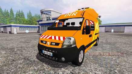 Renault Master DIR v2.1 for Farming Simulator 2015