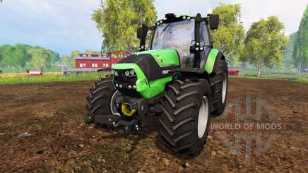 Deutz-Fahr Agrotron 6190 TTV v1.1 for Farming Simulator 2015