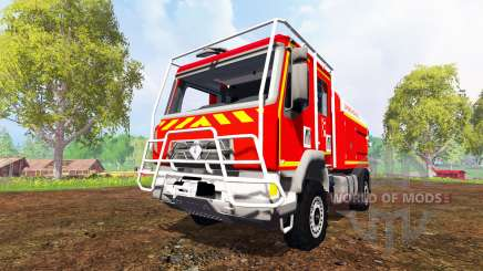 Renault Midlum [sapeurs-pompiers] for Farming Simulator 2015