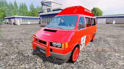 Volkswagen Transporter T4 [sapeur pompier] for Farming Simulator 2015