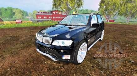 BMW X5 2004 for Farming Simulator 2015