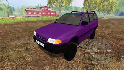 Opel Astra F Caravan [tuning] for Farming Simulator 2015