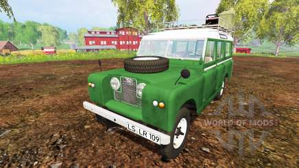 Land Rover Series IIa Station Wagon 1965 for Farming Simulator 2015