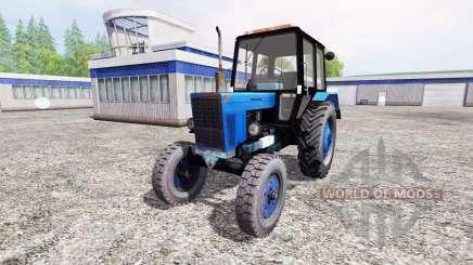 MTZ-80 Belarusian v2.0 for Farming Simulator 2015