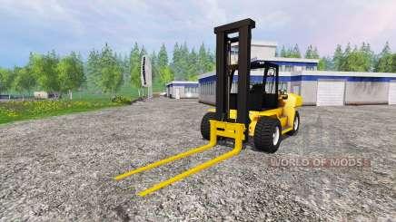Komatsu EX50 for Farming Simulator 2015