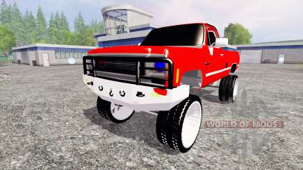 Chevrolet Silverado for Farming Simulator 2015
