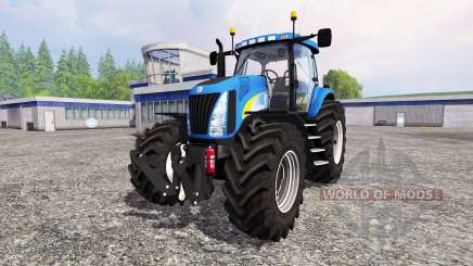 New Holland TG 285 v2.0 for Farming Simulator 2015