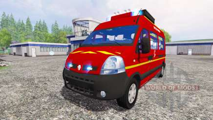 Renault Master [sapeurs-pompiers] for Farming Simulator 2015