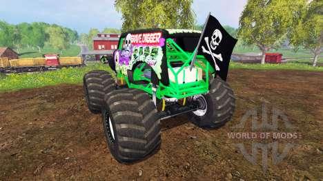 Grave Digger for Farming Simulator 2015