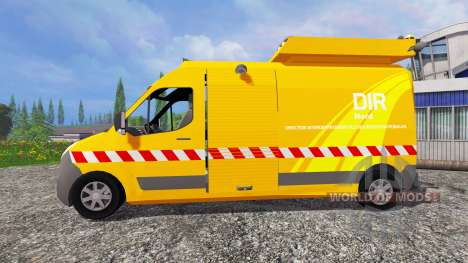Renault Master DIR for Farming Simulator 2015