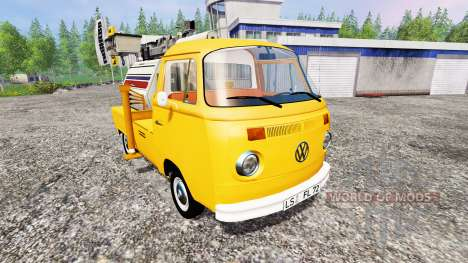 Volkswagen Transporter T2B 1972 [lighting mast] for Farming Simulator 2015