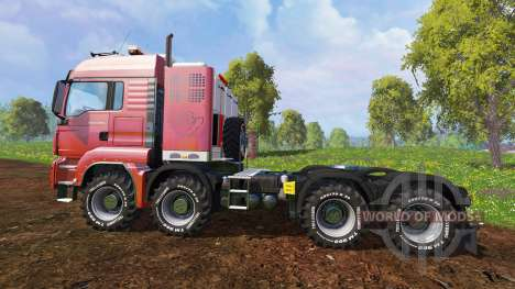 MAN TGS 41.570 8x8 Agrar v2.0 for Farming Simulator 2015