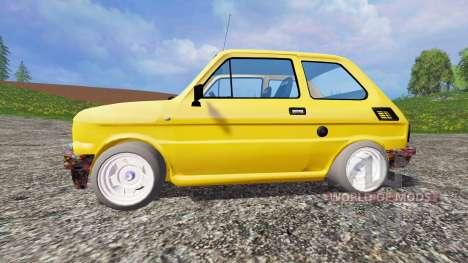 Fiat 126p for Farming Simulator 2015