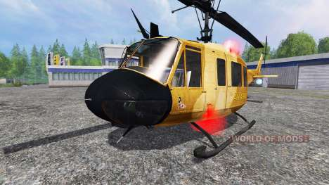 Bell UH-1 Iroquois for Farming Simulator 2015