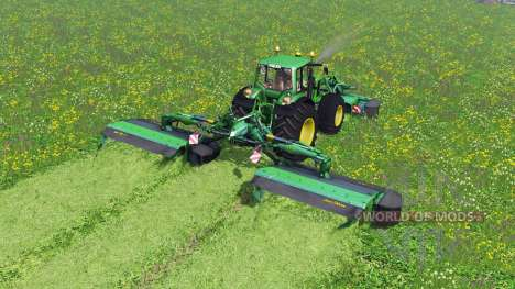 John Deere F310R и R870R for Farming Simulator 2015