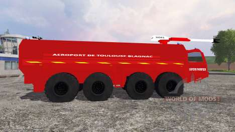 VMA Sapeur Pompiers v2.0 for Farming Simulator 2015