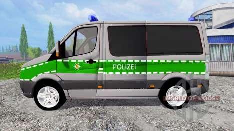 Volkswagen Crafter Bavaria Police for Farming Simulator 2015