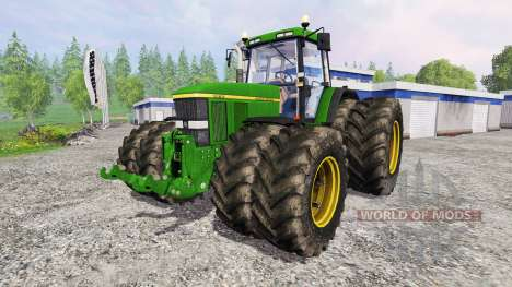 John Deere 7810 v2.1 for Farming Simulator 2015