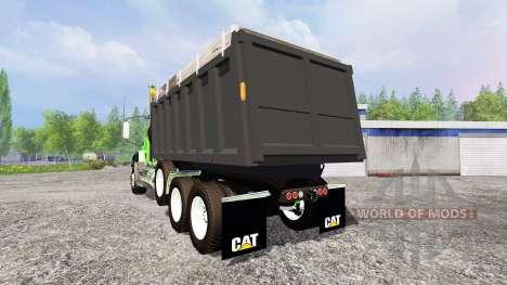 Caterpillar CT660 [dump] for Farming Simulator 2015