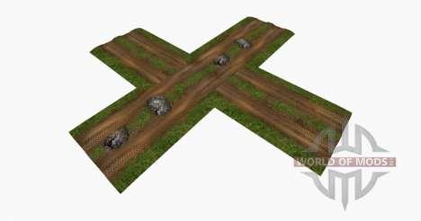 Wet dirt roads for Farming Simulator 2015