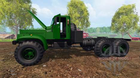 KrAZ-255 B1 v1.2 for Farming Simulator 2015