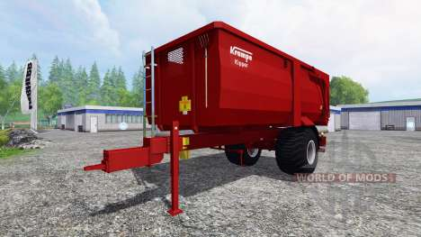 Krampe BBE 600 for Farming Simulator 2015