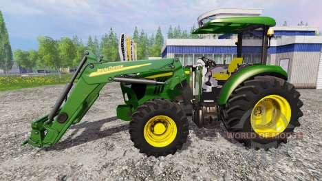 John Deere 5115M for Farming Simulator 2015