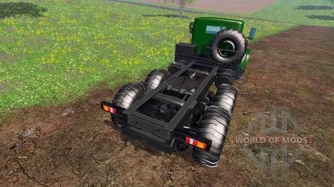 KrAZ-255 B1 v1.1 for Farming Simulator 2015
