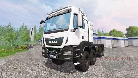 MAN TGS 8x8 for Farming Simulator 2015