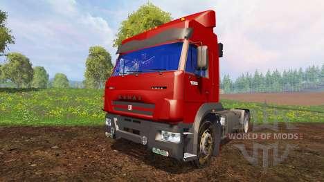 KamAZ-5460М v2.0 for Farming Simulator 2015