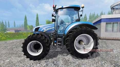 New Holland T6.160 v1.0 for Farming Simulator 2015