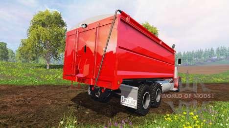 Peterbilt 379 [grain truck] for Farming Simulator 2015