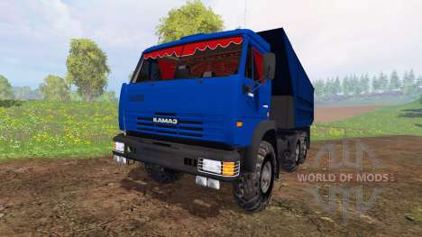 KamAZ-65115 v4.0 for Farming Simulator 2015