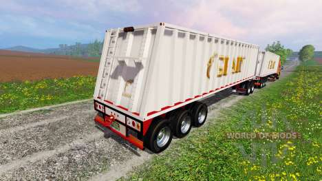 Peterbilt 387 [roadtrain] for Farming Simulator 2015