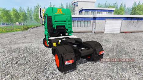 MAN TGS Aguas-Tenias for Farming Simulator 2015