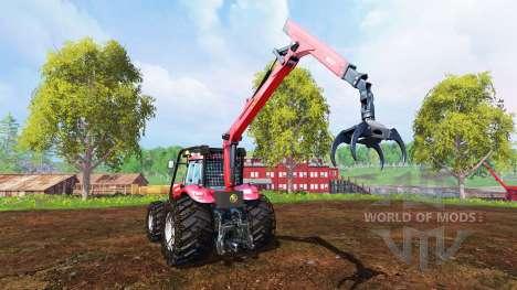 Case IH Magnum CVX 380 [forest] for Farming Simulator 2015