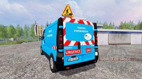 Renault Trafic [urgence gaz] v2.0 for Farming Simulator 2015
