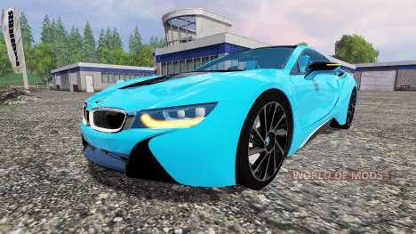 BMW i8 eDrive v1.6 for Farming Simulator 2015