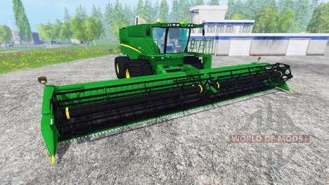 John Deere S680 for Farming Simulator 2015
