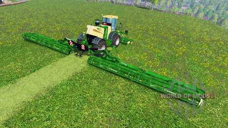 Krone Big M 500 [23,5m] for Farming Simulator 2015
