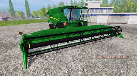 John Deere S 690i v1.5 for Farming Simulator 2015