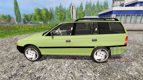 Opel Astra F Caravan [update] for Farming Simulator 2015