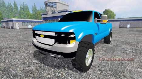 Chevrolet Silverado 2001 for Farming Simulator 2015