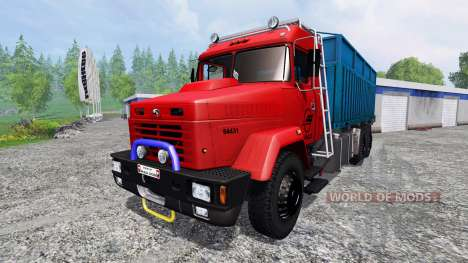 KrAZ-64431 for Farming Simulator 2015