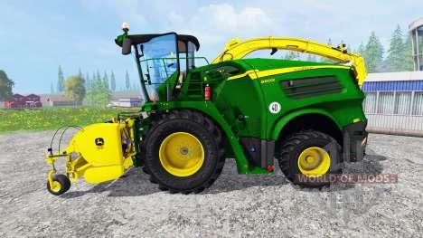 John Deere 8600i [pack] for Farming Simulator 2015